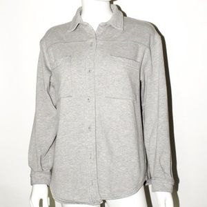 Flannel Button-Up Shirt